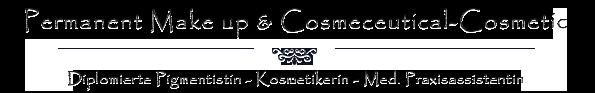Diplomierte Pigmentistin, Kosmetikerin, Med. Praxisassistentin